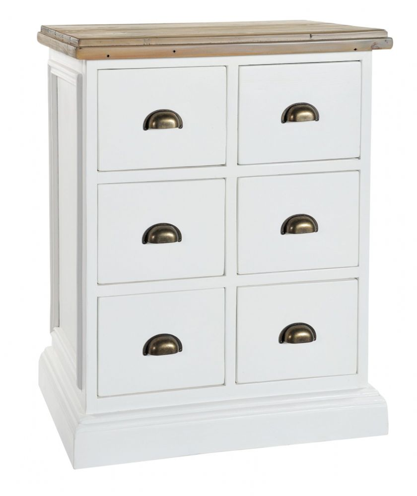 Lulworth 6 drawer Storage Chest
